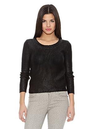 Springfield Jersey Foil Sweater (Negro)