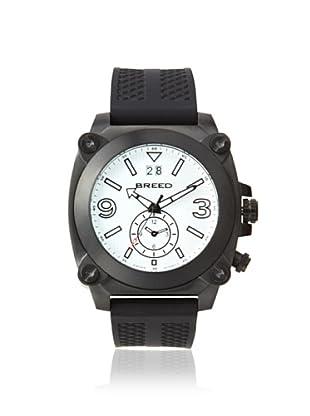 Breed Men's BRD9003 Vin Black/White Stainless Steel Watch