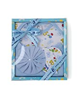 Stuff Jam Advance Baby 4 Piece Gift Set - Blue (0 - 1 Year)