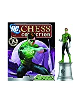 DC Chess Justice League Collector Figure & Magazine Green Lantern White Bishop