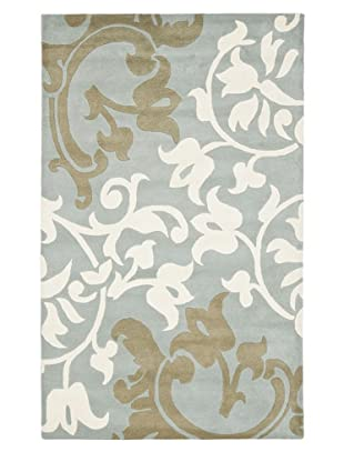 Soho Rugs Large Floral (Blue/Multi)