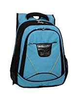 Next Age Nylon Turquoise School Backpack