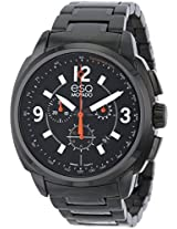 Esq By Movado Excel Chronograph Black Ip Mens Watch 07301418