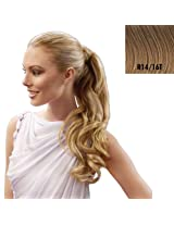 23 Inch Wrap Around Pony Extension By Jessica Simpson - R1416T Buttered Toast