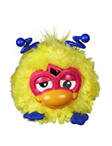 Furby Party Rockers Creature - Yellow with Pink Face