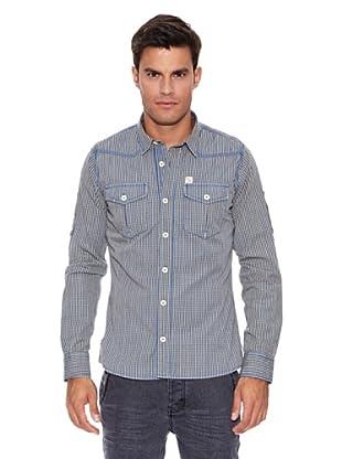 Pepe Jeans London Camisa Dawson (Azul / Blanco)