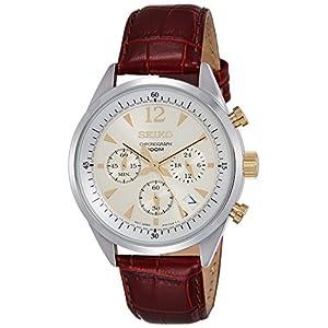 Seiko SSB069P1 Men's Strap Watch