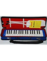 Swan 37 Key Melodica with Case - Blue Color