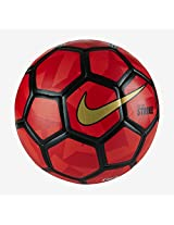 Nike Duro Strike Football (Red/Black)-Size 5