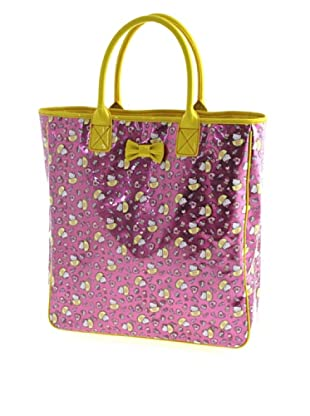 Hello Kitty Borsa giallo/fucsia