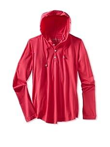 Spenglish Men's Hoodie (neon pink)