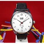 HMT Janata Devanagari | White Dial | 17 Jewels | Para Shock | Mechanical Watch
