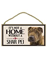 Imagine This Wood Sign for Shar Pei Dog Breeds