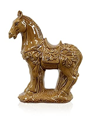 Urban Trends Collection Ceramic Horse (Brown)
