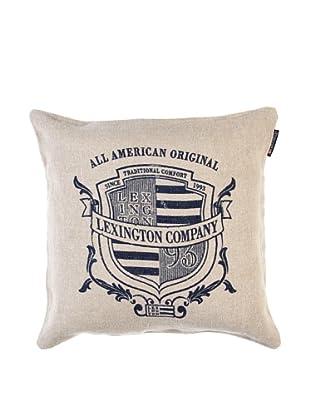 Lexington Company Funda De Cojín Logo (Beige)