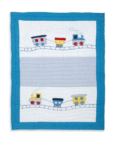 Amity Home Train Baby Quilt (Multi)