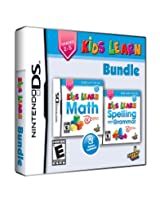 Kids Learn Bundle: Math and Spelling (Nintendo DS) (NTSC)