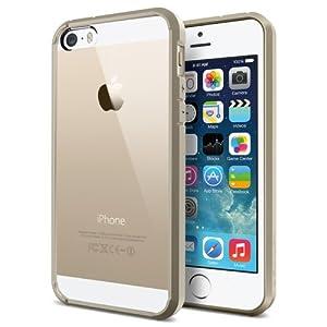 Spigen SGP10713 Ultra Hybrid Case for Apple iPhone 5S/5 (Champagne Gold)