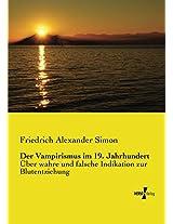 Der Vampirismus im 19. Jahrhundert (German Edition)