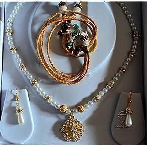 Varishta Jewells Handmade Traditional Ethnic Jewellery Set jewellery Set