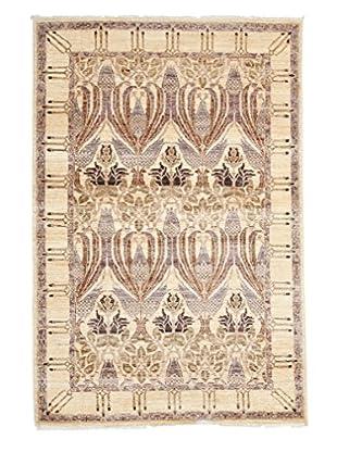 Darya Rugs Modern Oriental Rug, Lavender, 4' x 5' 10