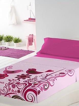 Valentina Juego de Sábanas Pink (Rosa / Fucsia)