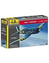 Heller Corsair F4U7 Boat Model Building Kit