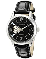 Stuhrling Original Analog Black Dial Men's Watch - 987.02