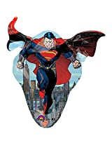 "Superman Man Of Steel 31"" Shape Balloon (Each) - Party Supplies"