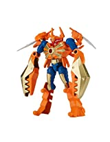 Power Rangers Dino Charge - Mixx N Morph Samurai Gold Ranger and Claw Zord Action Figure