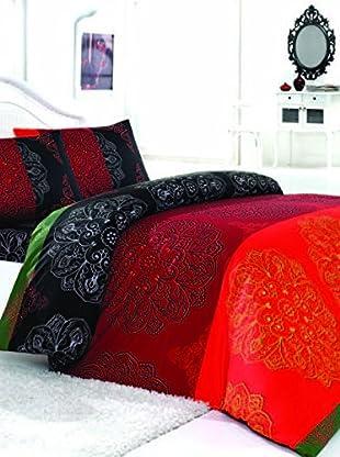 Colors Couture Bettdecke und Kissenbezug Frappe