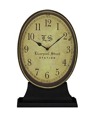 Cooper Classics Hopkins Clock, Aged Gold