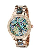 Betsey Johnson Women's BJ00478-04 Analog Display Quartz Rose Gold Watch