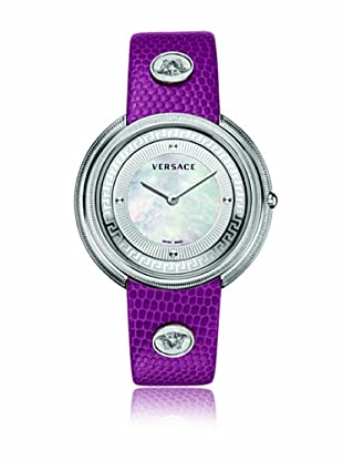 Versace Uhr mit schweizer Quarzuhrwerk Thea VA7020013 violett 39 mm