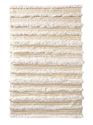 Vintage Berber Wedding Rug, Creme/Beige, 3' 8