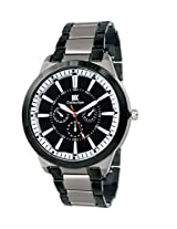 Iik Collection Analogue Black Dial Men's Watch-Iik042M
