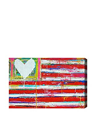 Oliver Gal One Nation Canvas Art