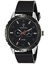 Optima Analog Black Dial Men's Watch - OFT-2436 BK