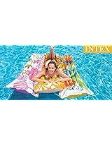 Intex Inflatable Fashion Float Swimming Mat - Water Aqua Fun (Colors & Designs May Vary)