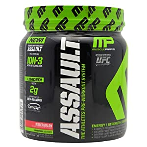 Muscle Pharm Assault Pre-Workout System, Watermelon