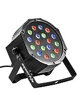 Eyourlife 18X3W Par LED 54W RGB DMX 512 Stage Lighting