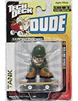 2001 Tech Deck Dude Crew 1 Magna Series Tank Figure With Skateboard