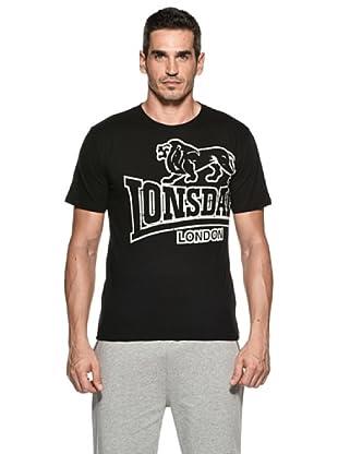 Lonsdale Camiseta Ko Lanta (Negro)