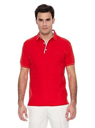 Pedro del Hierro Polo Detalle Vichy (Rojo)