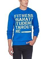 Reebok Men's Round Neck Cotton Sweatshirt