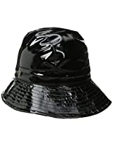 Karen Kane Women's Patent Rain Trilby Hat