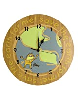 Trend Lab Dr. Seuss The Lorax Wall Clock, Natural By Trend Lab