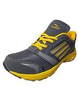 Livia500 Black Green Jogging Sport Shoes