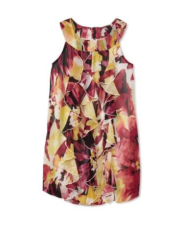 Hype Girls Paper Mache Dress (Lemon)