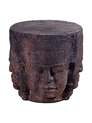 Phillips Collection Vishnu Head/Four Faces Table, Brown